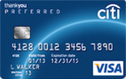 Citi® ThankYou® Preferred Rewards Card
