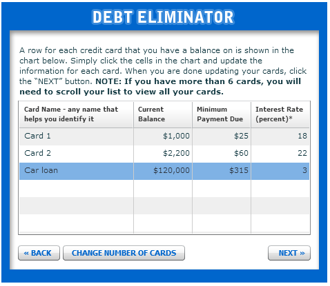 The Best Debt Repayment Tools and Apps The Simple Dollar – Debt Reduction Calculator