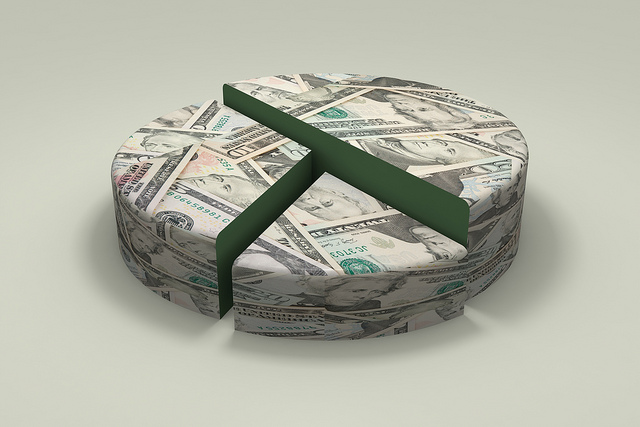 Deciding how to cut up your financial pie is key to making your budget work. Photo: Chris Potter