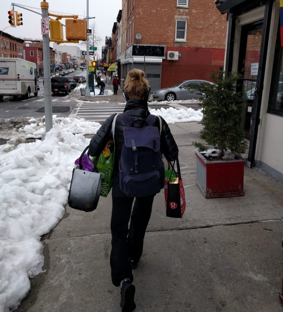 walking home from costco - costco without a car